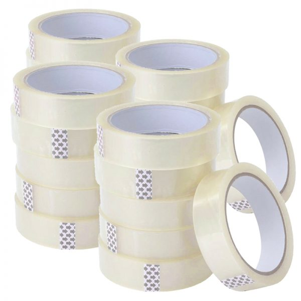 25mm clear sticky tape