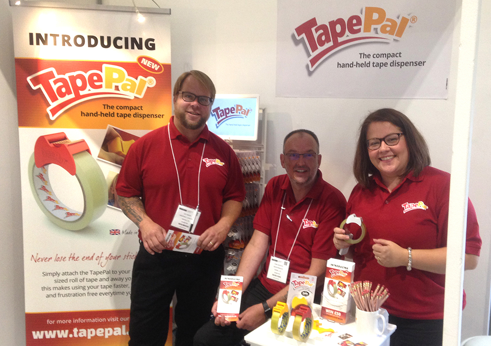 tapepal team at exhibition