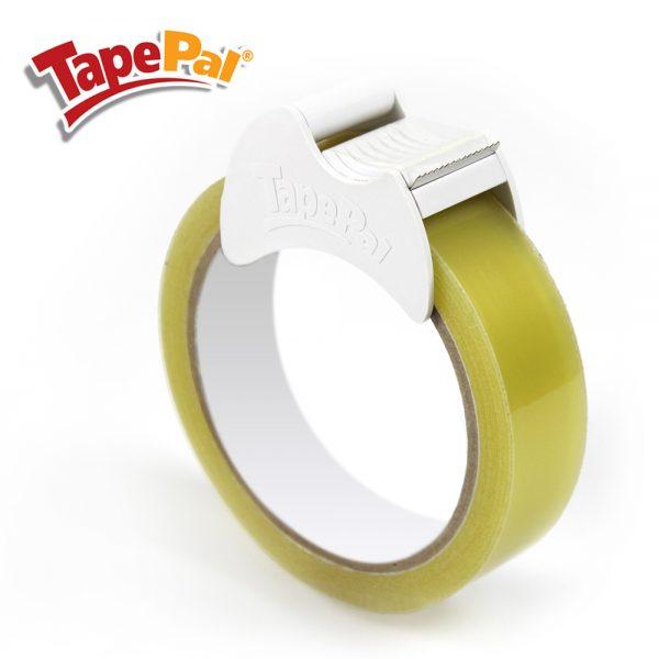 white tape dispenser